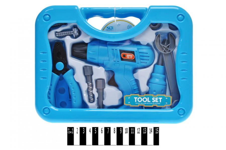 Дитячий набір інструментів у валізі 6658AB-1