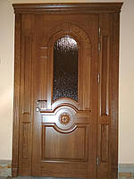 Вхідні Двері з Масиву