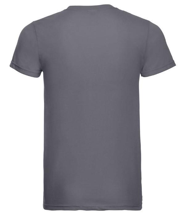 Мужская тонкая футболка Светло-Синий S
