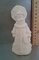Гипсовая фигурка для раскрашивания статуэтка. Гіпсова фігурка для розмальовування. Снегурочка 3d