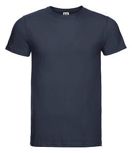 Мужская тонкая футболка S Тёмно-Морской