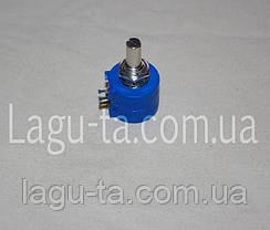 Резистор переменный многооборотный 10 кОм, фото 3