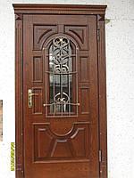 Накладки на металеві Двері з Масиву