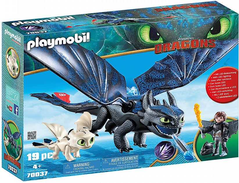 """Игровой набор Playmobil """"Как приручить дракона"""" 70037"""