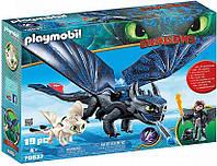 """Игровой набор Playmobil """"Как приручить дракона"""" 70037, фото 1"""