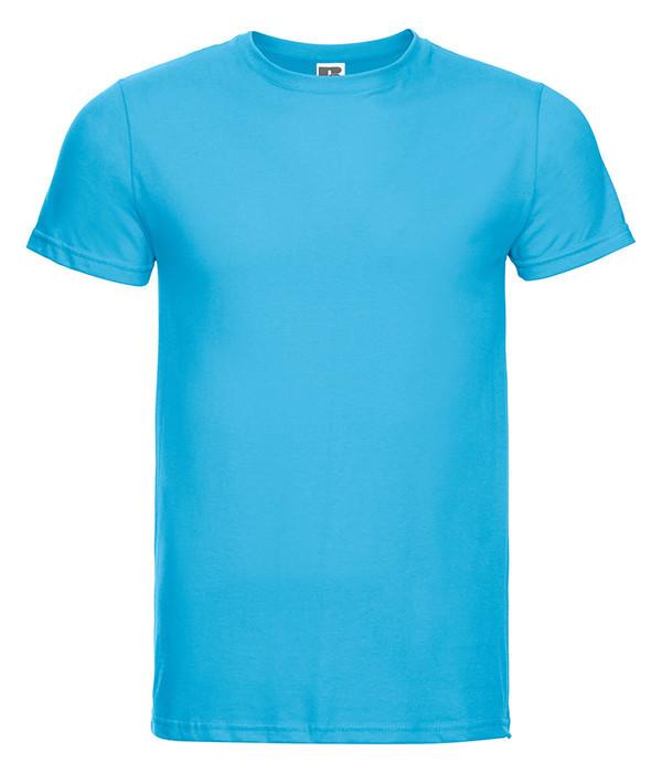 Мужская тонкая футболка Бирюзовый 2XL