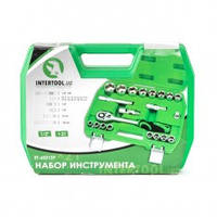 "Набор инструмента 1/2"" 21 предмет INTERTOOL  ET-6021SP"