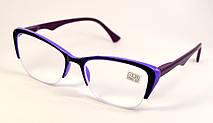 Дизайнерські жіночі окуляри для зору (НМ 2002/313 ф)
