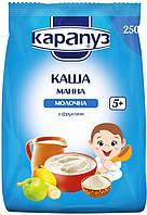 """Молочная каша """"Карапуз"""" манная с фруктами 250 г"""