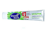 DONTODENT 125 ml Krauter Донтодент 125мл зубна паста