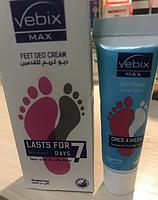 VEBIX Feet Deo Cream Lasts For 7 days-дезодорант для ног Египет
