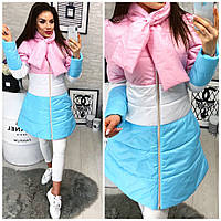 Куртка женская-пальто Радуга 999