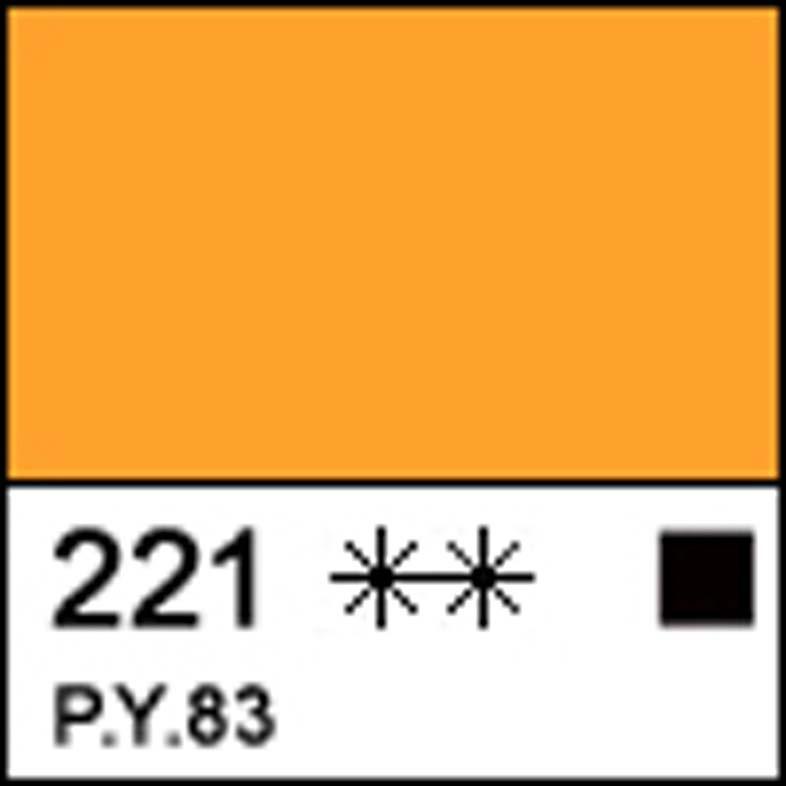 Краска акриловая СОНЕТ желтая темная, 75мл ЗХК код: 351865, арт.завода: 28109221