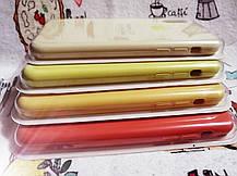 Чехол iPhone X / Xs Soft Touch Silicone Case с микрофиброй внутри (MKX32FE) - Color 10, фото 3