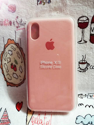 Чехол iPhone X / Xs Soft Touch Silicone Case с микрофиброй внутри (MKX32FE) - Color 10, фото 2