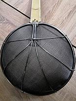 Сито шумовка для фритюра,  пеноотделитель, ложка сито, диаметр 29см, фото 3