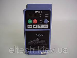 Преобразователь частоты Hitachi X200-002SFEF, 0.2кВт, 220В