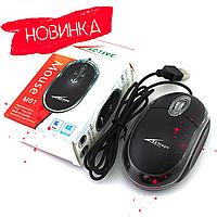 Комп'ютерна мишка дротова/ Компьютерная мышь проводная Active M01 Optical