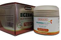 Крем от экземы и псориаза Hemani  Eczema Relif Moisturizing  Cream 50мл