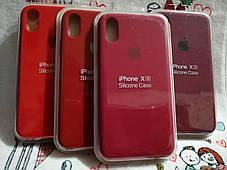 Чехол iPhone X / Xs Soft Touch Silicone Case с микрофиброй внутри (MKX32FE) - Color 15, фото 2