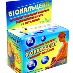 Биокальцевит порошок пакет 2г №30