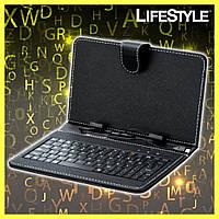 Чехол + KEYBOARD 7, Чехол с встроенной клавиатурой, Чехол для планшета с клавиатурой