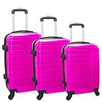 Набор пластиковых чемоданов 3в1, фото 1