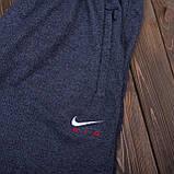 Чоловічі трикотажні шорти NIKE темно-сірого кольору, фото 2