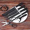 Набор профессиональнх кухонных ножей 6 in 1 Non-Stick Coating. Лучшая Цена!, фото 2