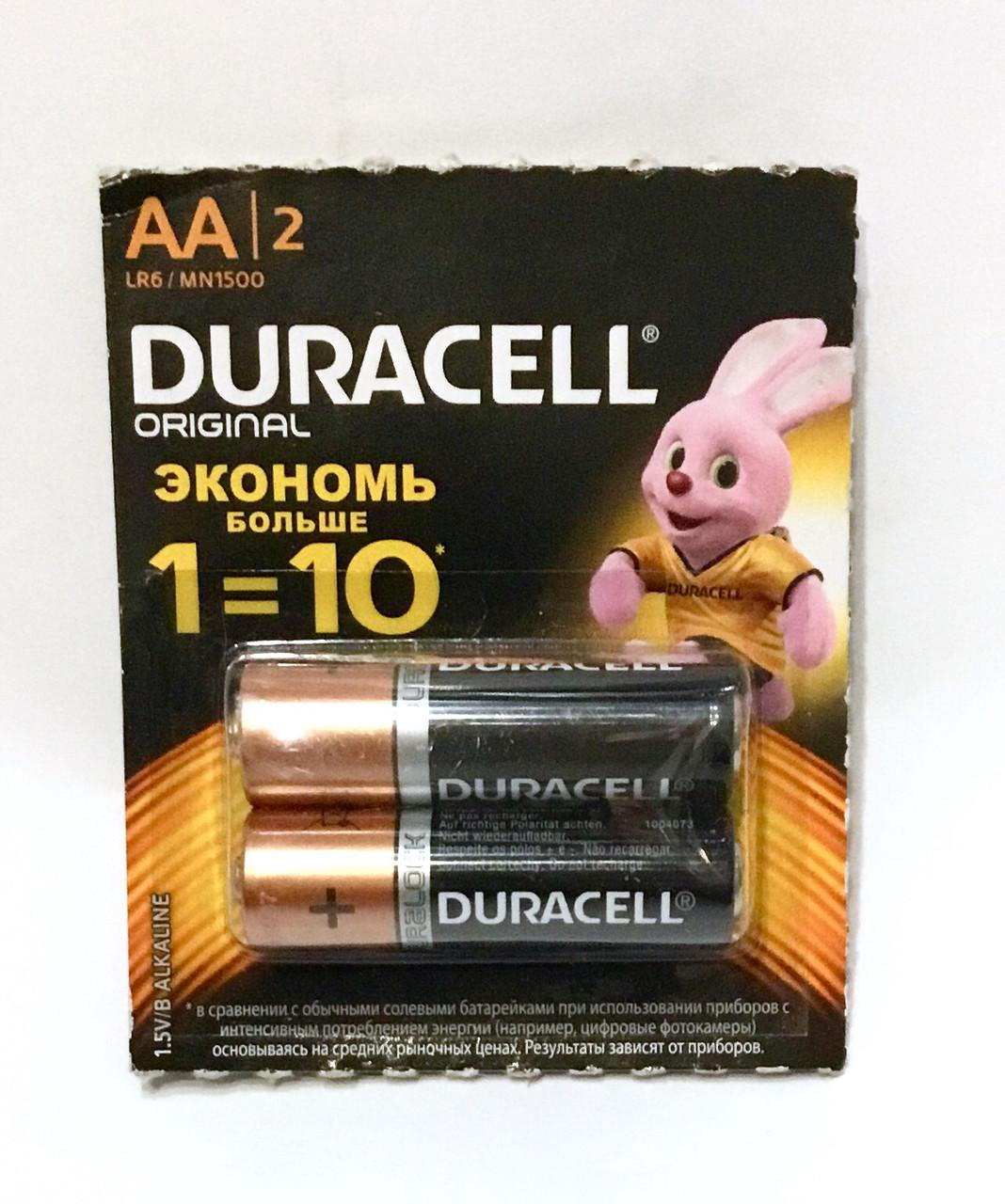 Батарейка DURACELL, пальчики
