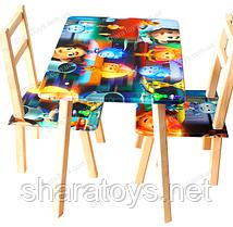 "Стол и два стульчика серии ""Фиксики"""