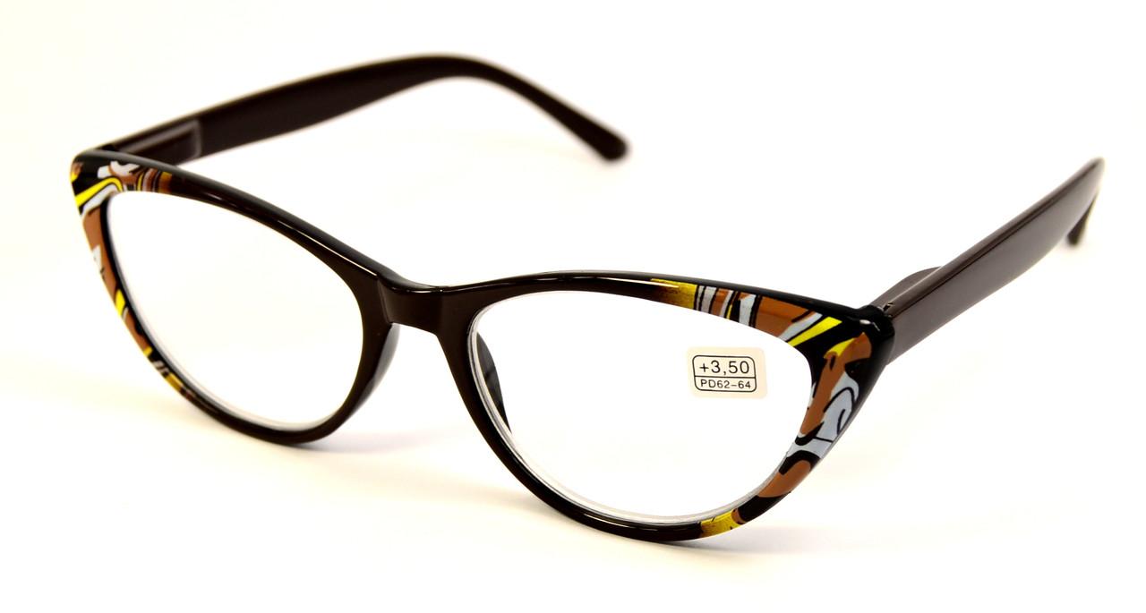 Женские очки лисички для зрения (НМ 2003 к)