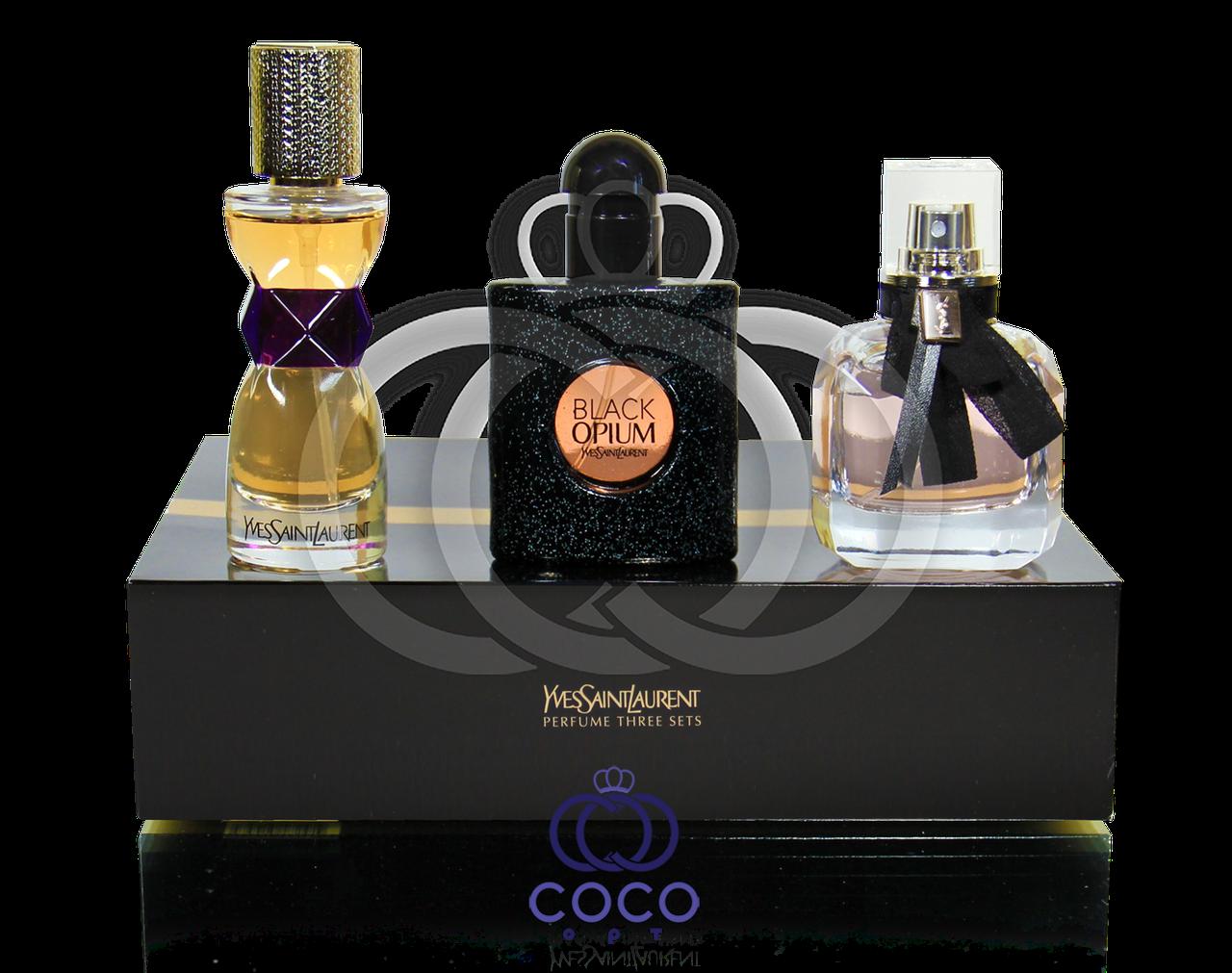 Подарочный парфюмированный набор YSL 3*30