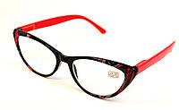 Женские очки лисички для зрения (НМ 2003 ч-к)