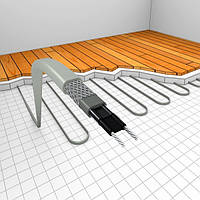 Греющий саморегулирующийся кабель FINE KOREA  для обогрева пола и труб водоснабжения мощность 16 Вт/