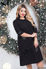 Сукня жіноча ошатне вечірній розміри: 50-60, фото 3