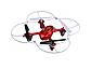 Квадрокоптер Syma X11 с гироскопом USB на аккумуляторе Красный, фото 4