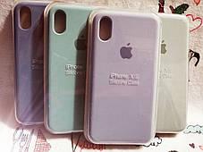 Чехол iPhone X / Xs Soft Touch Silicone Case с микрофиброй внутри (MKX32FE) - Color 18, фото 2