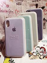Чехол iPhone X / Xs Soft Touch Silicone Case с микрофиброй внутри (MKX32FE) - Color 18, фото 3