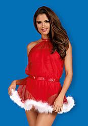 Ролевой костюм новогодний Obsessive SANTASTIC DRESS, Польша