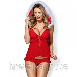 Ролевой костюм новогодний Obsessive 851 BABYDOLL, Польша