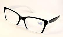Жіночі окуляри лисички для зору (НМ 2006 ч-б)