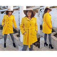 Пальто женское большие размеры Букле 5036 бат