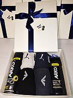 """Подарочный мужской набор """"Заботливый"""" от ROYAL PLAY (фирменные носки зимние,гель для душа и для бритья)"""