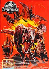 Шоколадный адвент календарь Jurassic World  65г Великобритания
