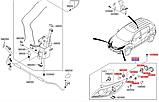 Молдинг порога левый накладка киа Спортейдж 3, KIA Sportage 2010-15 SL, 877513u000, фото 6