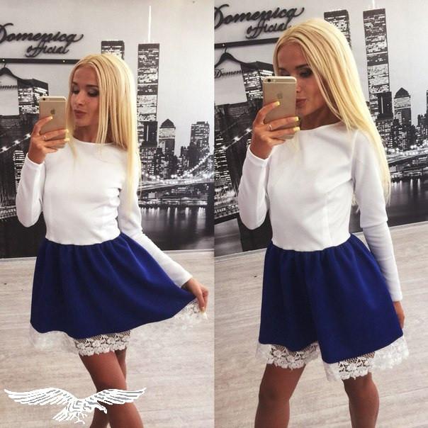 Купить красивое платье с кружевом