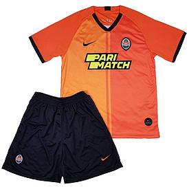 Футбольная форма Шатер детская 2019-2020 домашняя оранжевая