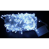 Гирлянда Диод 300LED 25м. Белый (холодный), Силиконовый провод, фото 1