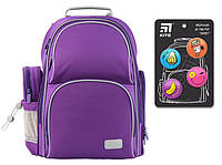 K19-702M-2 Рюкзак школьный Kite 2019 Education Smart фиолетовый 702M-2